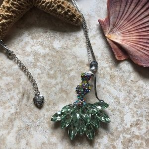 [NWOT] Betsey Johnson Dancer Necklace/Brooch